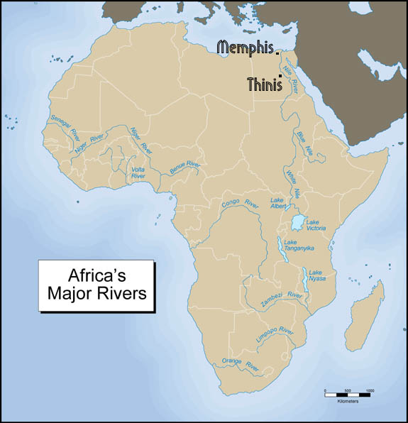 Africa's Major Rivers -Memphis THinis