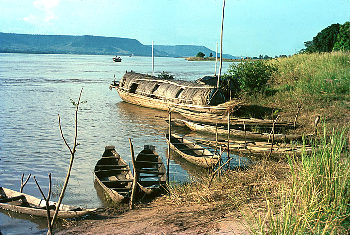 Boats on Niger