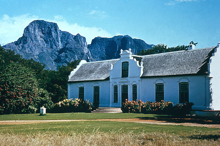 Dutch Home in South Africa. Image courtesy Africa Focus.