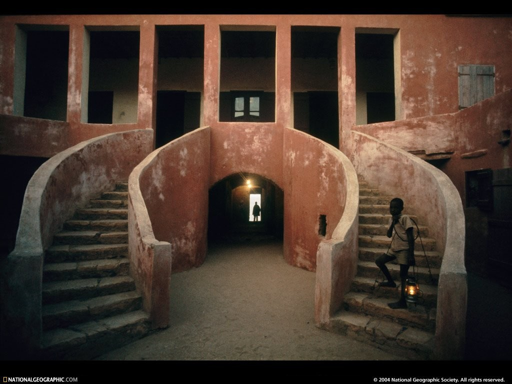 Maison des Esclaves (House of Slaves on Goree Island)