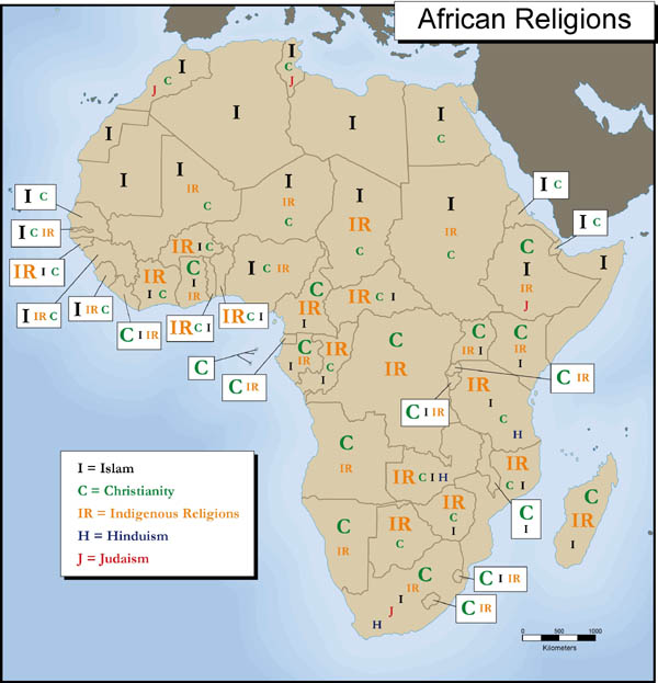relationship between african culture and christianity