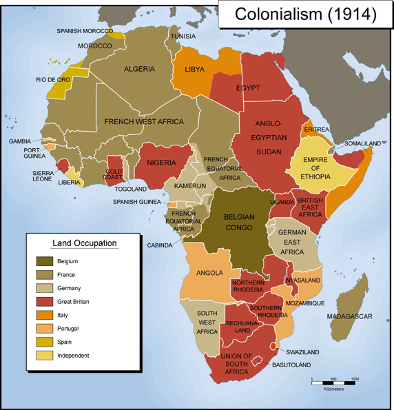 module seven b activity two exploring africa colonialism 1914 map colonialism