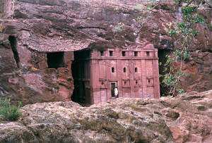 Church Carved out of Rock