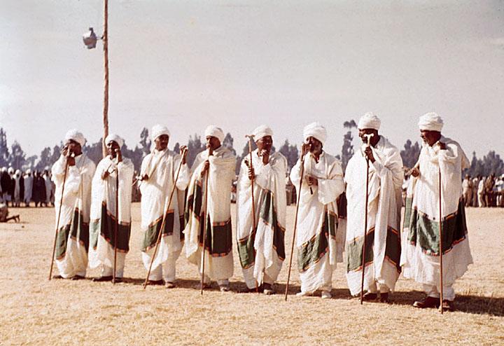 Ethiopian Orthodox Priests