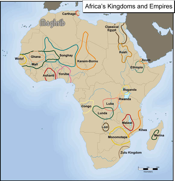 Africas Kingdoms and Empires -Maghrib