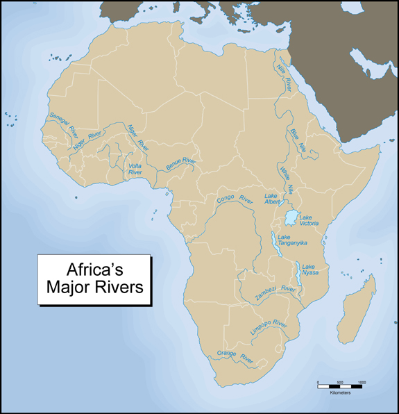 Lake Victoria On Map Of Africa.Module Six Activity Two Exploring Africa
