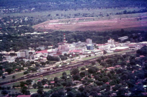 City of Kitwe, circa 1970