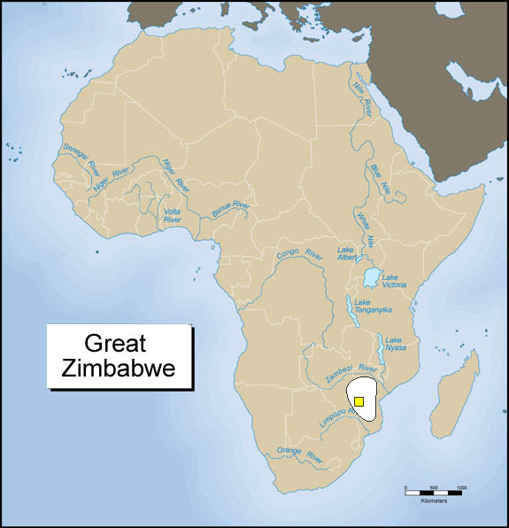 Module seven a activity four exploring africa great zimbabwe map gumiabroncs Choice Image