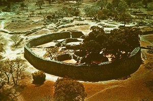 Great Zimbabwe Ruins Aerial