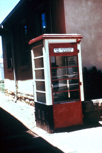 Phone Booth for Non-Europeans in South Africa