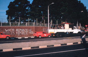 Protest Sign, Johannesbutg, Circa 1982