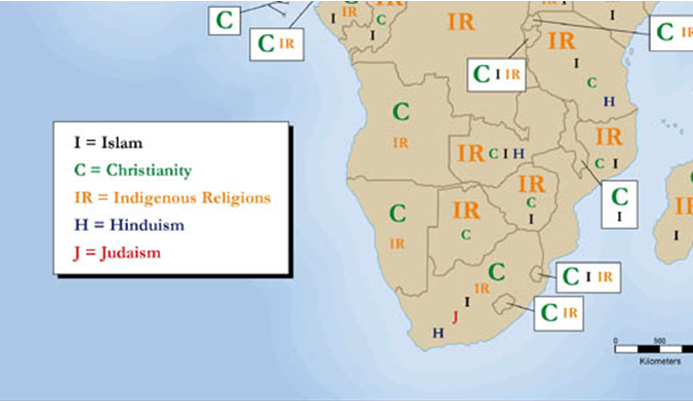 Religions of Southern Africa