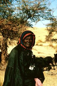 Algerian Nomad Woman