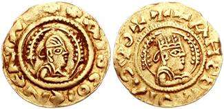 Coinage from Reign of King Kaleb