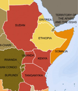 Colonialism East Africa 1945