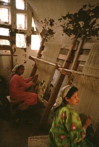 Egyptian Women Weaving