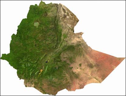 Ethiopia Satellite Image