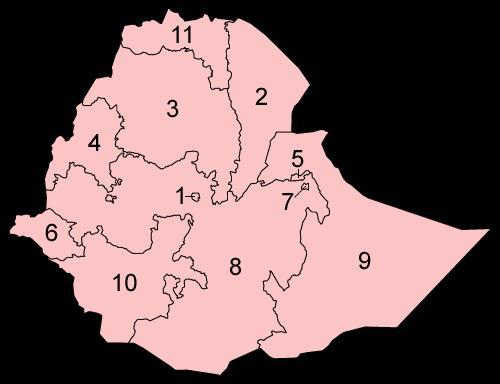 Ethiopian Regions