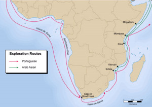 Exploration Routes East Africa