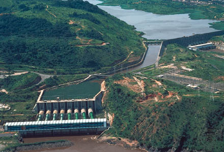 Hydroelectric Dam on the Congo