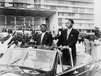Leopold Sedar Senghor and Mamadou Dia