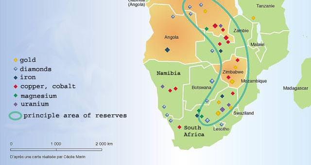 Mineral Resources in Southern Africa