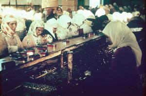 Moroccan Women Can Sardines