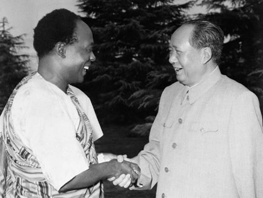 Nkrumah and Mao