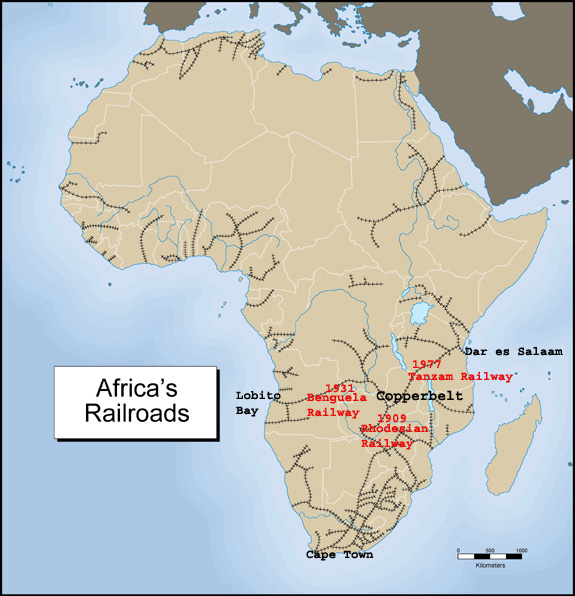 Railway Rest of Africa