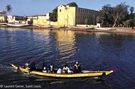 Saint Louis Boat