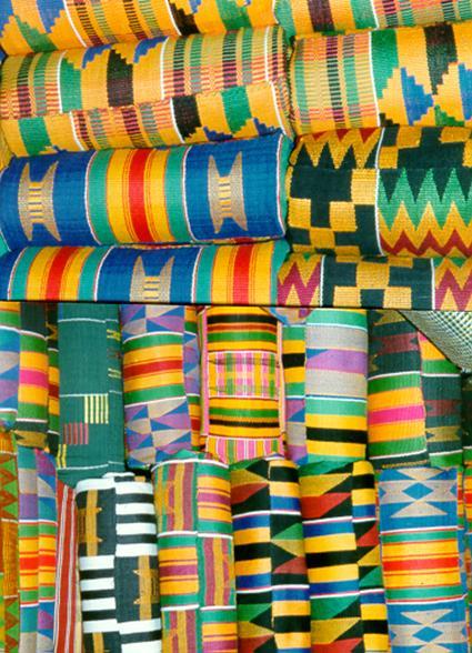 Sample of Kente Cloths