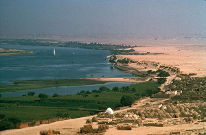 The Nile Meets the Desert