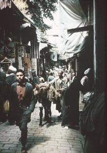 Urban Market in Fez