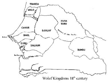 Wolof Kingdoms 18th Century