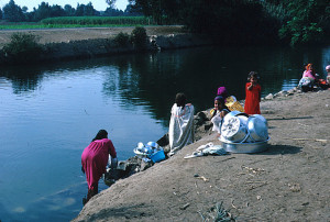 Women Washing in the Nile