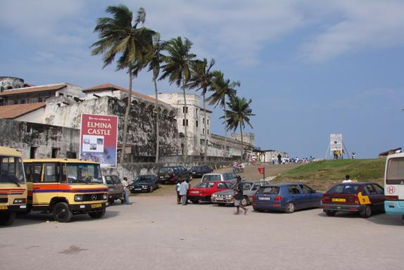 Elmina from the parking lot