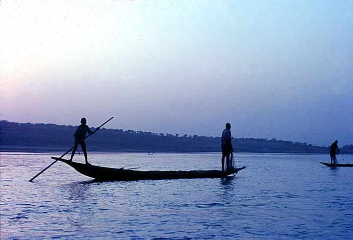 Fishing in the Benue
