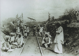 Indians working in Uganda Railway