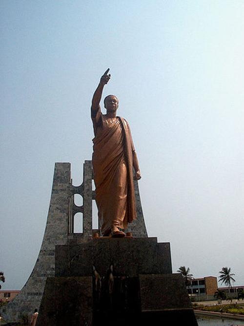 Kwame Main Statue