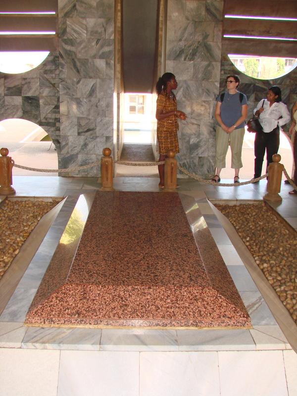 Nkrumah's grave