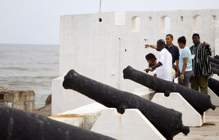 Obama at Elmina