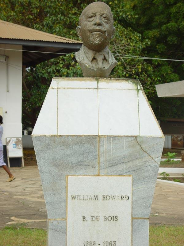 WEB Du Bois Statue