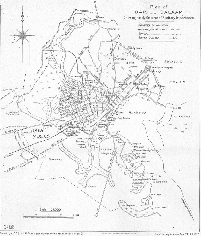 dar segregation map