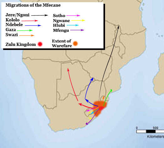 Migrations of the Mfecane