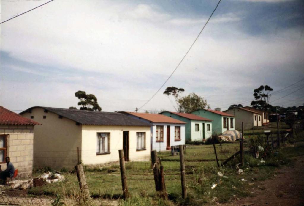 Some homes in Duncan Village