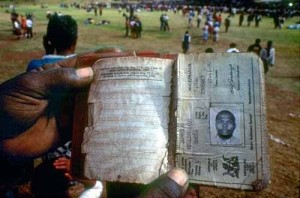 South African Pass Book