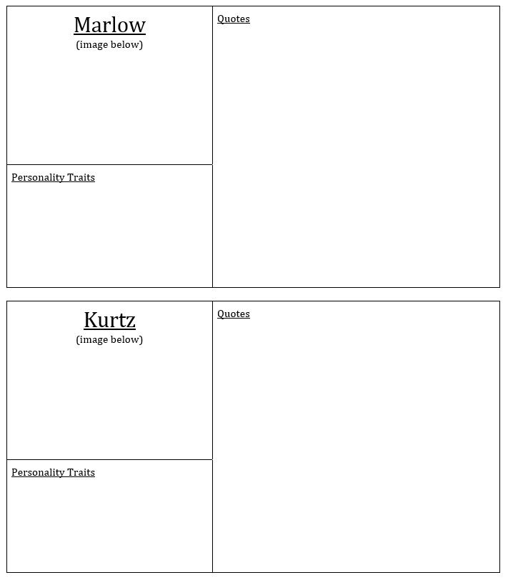 Character Charts 1