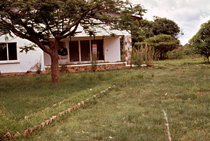 House in Katanga where Lumumba was assassinated