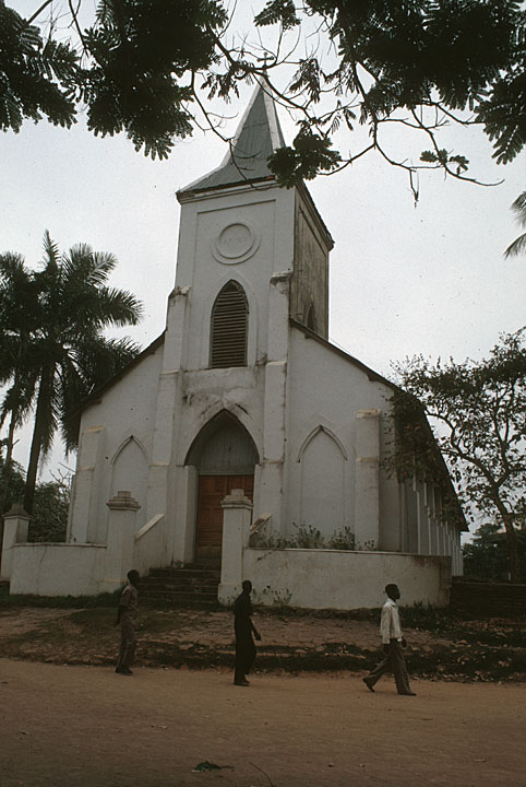 Mission Church in Belgian Congo Africa Focus: Sights and Sounds of a Continent