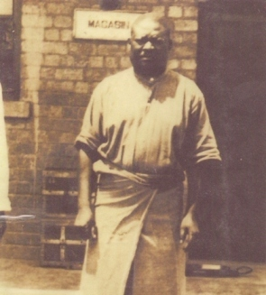 One of the few known photos of Simon Kimbangu taken in prison. No date provided.